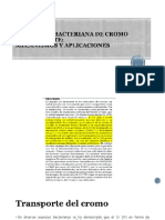 Reduccion de cromo hexavalente