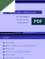 RESUMO - Centro de Massa e Momento Linear.pdf