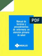 Manual de Técnicas y Procedimientos de Enfermería en Atención Primaria de Salud