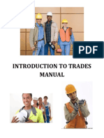 Introduction to Trades Manual