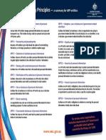 Australian privacy principles Summary v6