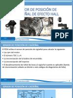 SENSOR DE POSICIÓN DE CIGÜEÑAL DE EFECTO HALL