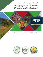 Análisis y Proyección Del Sector Agropecuario en La Provincia de Chiriquí