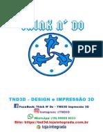 Tnd3d- Detalhes Impressao3d (Leia Por Favor)
