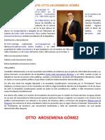 Biografía Otto Arosemena Gómez