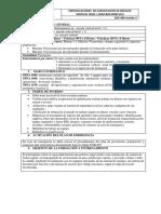 Especificaciones de Capacitacion de Rescate Vertival Nivel 1