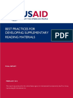 Best Practices for Developing Supplementary Reading Materials