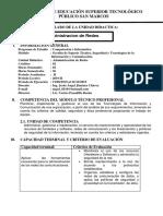 SILABO Administracion de Red OK.docx
