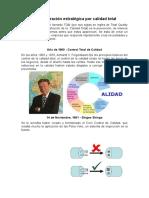 Cuarta Etapa Administración Estratégica Por Calidad Total