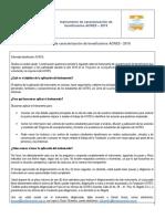 Instrumento Caracterizacion Estudiantes Acres 2019 Vf Aplicacion