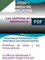 Los Conflictos en La Adolescencia