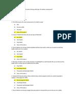 Quiz Sample Clutch