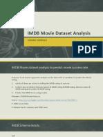 Imdb Movie Data Set