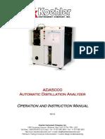 ADA5000_K45603_K45604_K45703-TS_K45704-TS Manual REV B