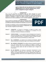 Reglamento Interno de La Comision de Postulación Salas de Apelaciones