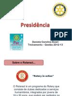 Presidc3aancia de Rotaract Clubs Daniela Carolina Bizari1