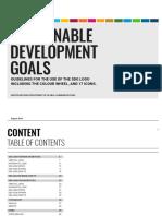 SDG Guidelines January 2019