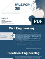 CDR SAMPLE FOR ENGINEERS