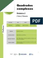 2 - Nos.complexos Quadrados Complexos e Gráfico 3B Mat Prof