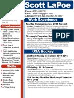 lapoescott resume