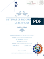 Cuadro Comparativo - Sistemas de Producción y de Servicios