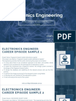 Electronics Engineering CDR Sample
