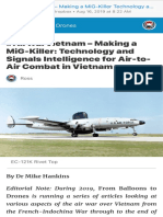 AirWarVietnam – Making a MiG-Killer Technology and Signals Intelligence for Air-To-Air Combat in Vietnam – From Balloons to Drones
