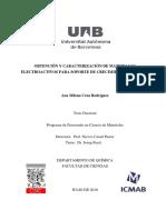obtencion y caracterizacion de materiales