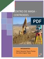 centroides y centros de masa
