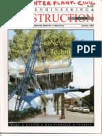 Civil Const. Magazine Composite Floor System