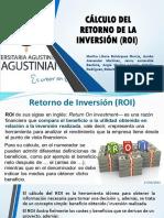 Cálculo Del Retorno de La Inversión