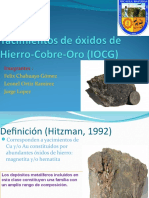 depositos IOCG
