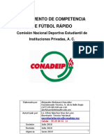 Futbol Rapido Reglamento de Competencia 2018-2019