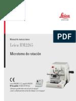 Leica RM2265 v 2.2 - Manual