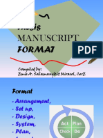 Thesis Format