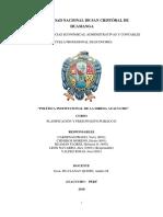 Politica Institucional Diresa 2018