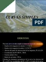 Caminos i Ejercicios de Curvas Simples