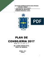 Plan Consejeria 2017