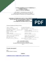 Amicus Curiae CEJIL y HRW