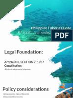 Fisheries Code