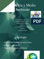 Ecología y Medio Ambiente power.ppt