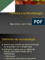1. Historia de La Microbiología
