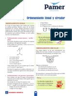 RM 5ºAño S6 Ordenamiento Lineal y Circular