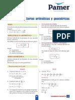 RM 5ºAño S4 Series Aritméticas y Geométricas