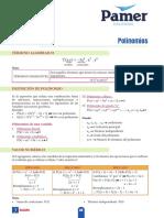 X 5ºAño S3 Polinomios