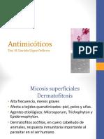 Antimicóticos-Antiparasitarios 2018ppt