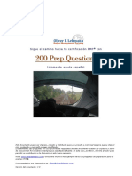 200 PMP Sample Questions Spanish