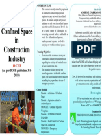 Brochure Confined Space in Construction