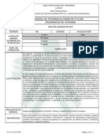 Estructura Curricular Gestion Adtiva