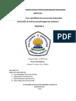Klasifikasi Sistem Penyelenggaraan Makanan Institusi